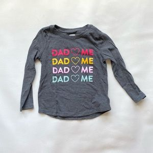 EUC Old Navy Dad Loves Me Shirt
